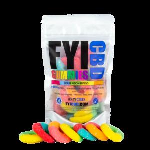 FYICBD | Peach Ring Gummies | Best in Quality, California